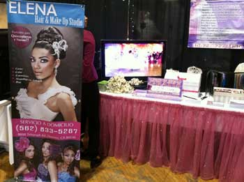 Vinyl Banner Elena Hair & MakeUp Studio