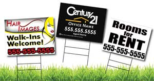 Coroplast Signs - Yard Signs - Real Estate Signs