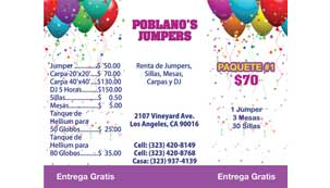 Poblanos Jumpers