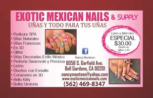 Exotic Mexican Nails